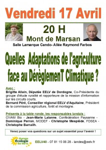Affichette table ronde Agri. 7 Avril